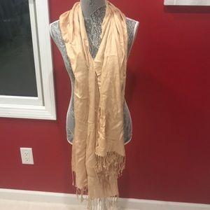 Jackets & Blazers - Fringe and scarf/wrap
